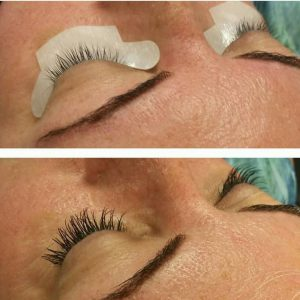 Xtreme Lashes before and after